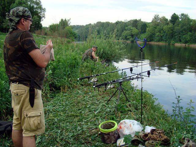 рыбалка и клев в житомирской области