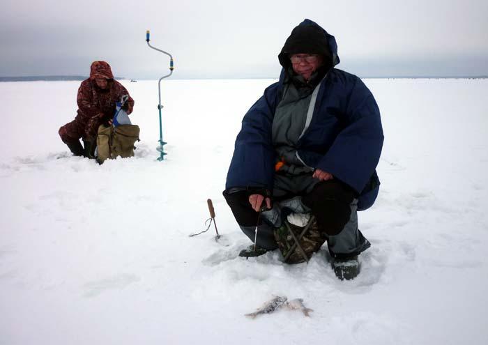 ловля рыбы на казу